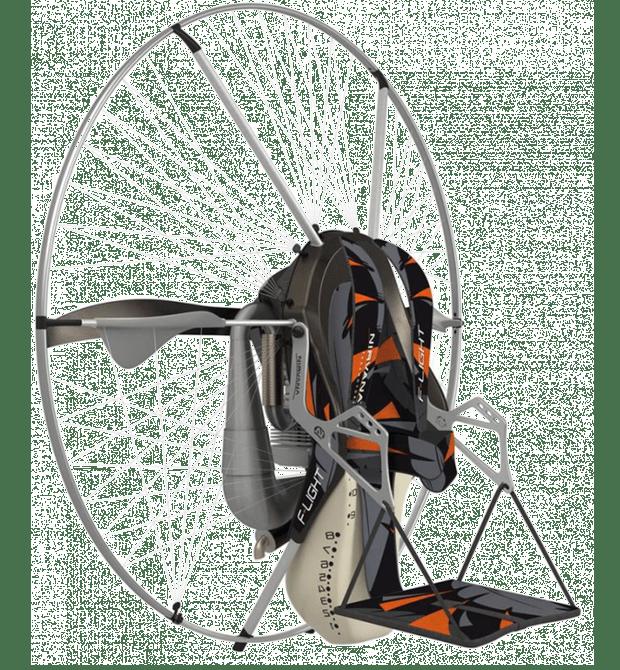 F-light paramotor Nirvana bezpečnost